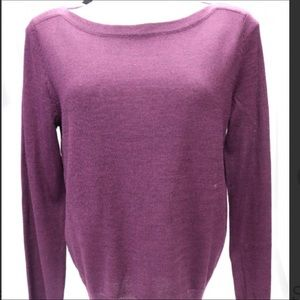 The Limited Plum 🍇 Knit Sweater NWT